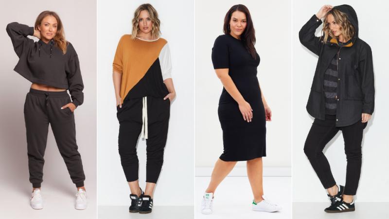 AW2021 Australian Plus Size Fashion - elevated basics