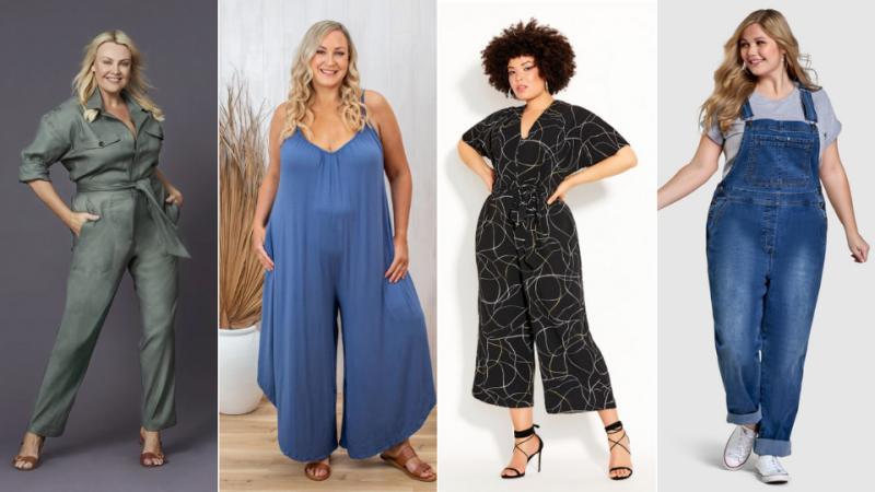 AW2021 Australian Plus Size Fashion - jumpsuits