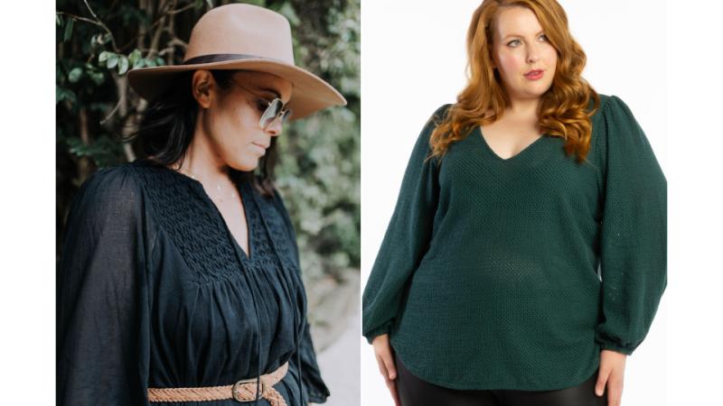 AW2021 Australian Plus Size Fashion - sleeves