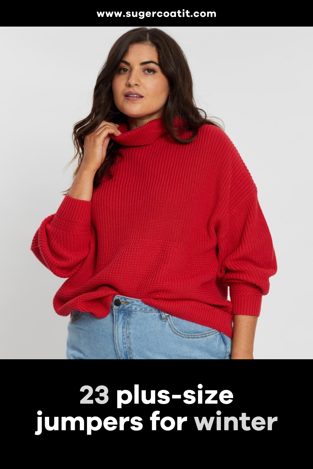 23 plus-size jumpers for winter - Suger Coat It